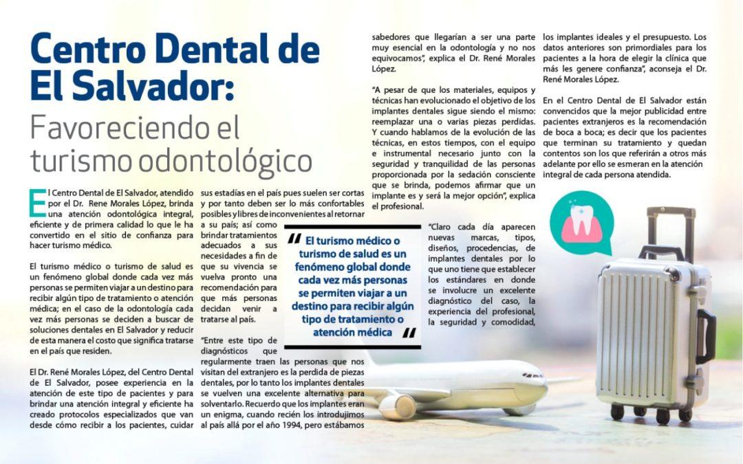 Centro Dental de El Salvador: Favoreciendo el turismo odontológico